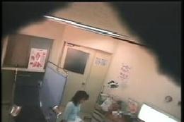 驚愕!! 産婦人科診察室検診 トイレ検尿