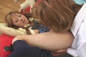 女子校生のお掃除クンニ エロ動画