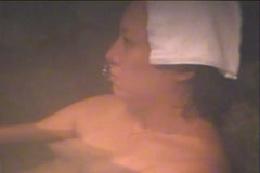 女風呂 覗きの穴場 露天風呂編 3
