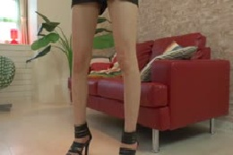 ★マ○コ・シール1枚だけでストリップ・ダンス/Mさん(23歳…