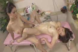レズビアン洗体エステサロン