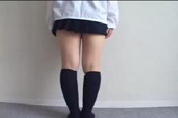 【膝の裏フェチ】女の子の膝の裏☆ただただ観察して興奮する♪♪…
