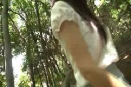 モデル級スタイルM女野外調教 美脚、美尻をガクガクさせて被虐…