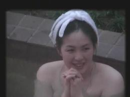 素人完全顔出し露天風呂盗撮 Scene.2