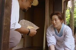 日本婦人のSEX-女中