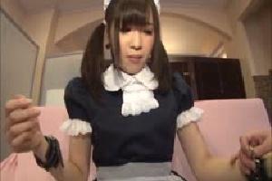 無料動画 マニアコスプレ美少女メイド 制服