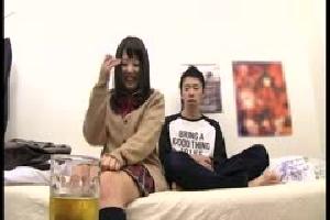 無料動画 女優(単体作品) 巨乳ローション/オイル美少女制服